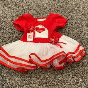 Pre owned Bonnie Baby Valentines Day dress